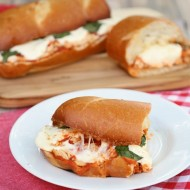 Chicken Margherita Sandwiches