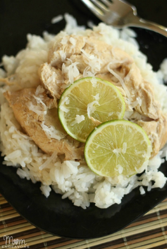 Crock POt Coconut Lime Chicken