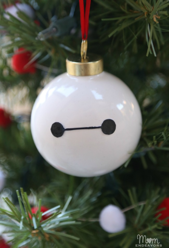DIY Baymax Ornament