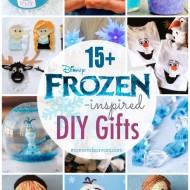 15+ DIY Disney FROZEN Gifts