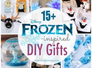 Disney Frozen inspired DIY Gifts