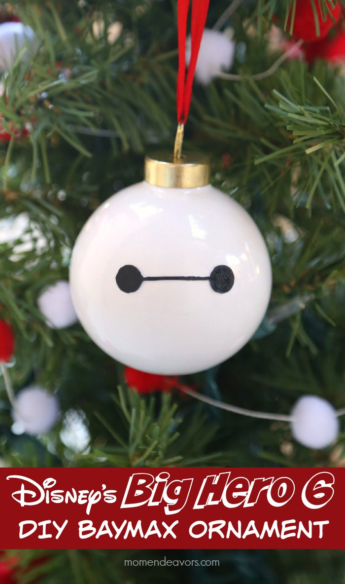 Disney's Big Hero 6 DIY Baymax Ornament