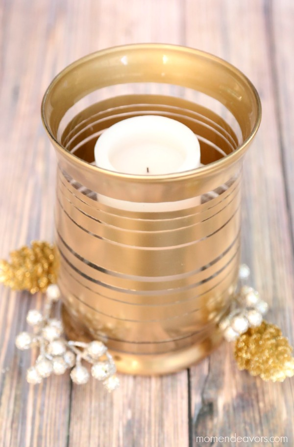 Gold Metallic Vase