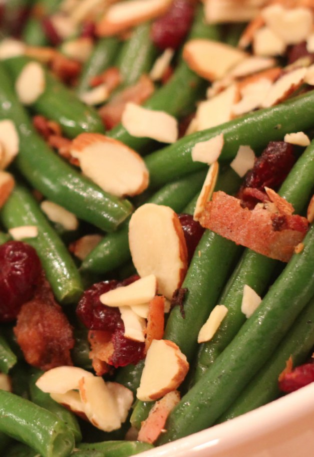 Holiday Green Beans Side Dish