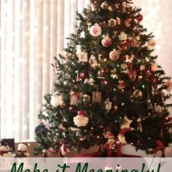 Holiday Planning Tips: Making it Meaningful