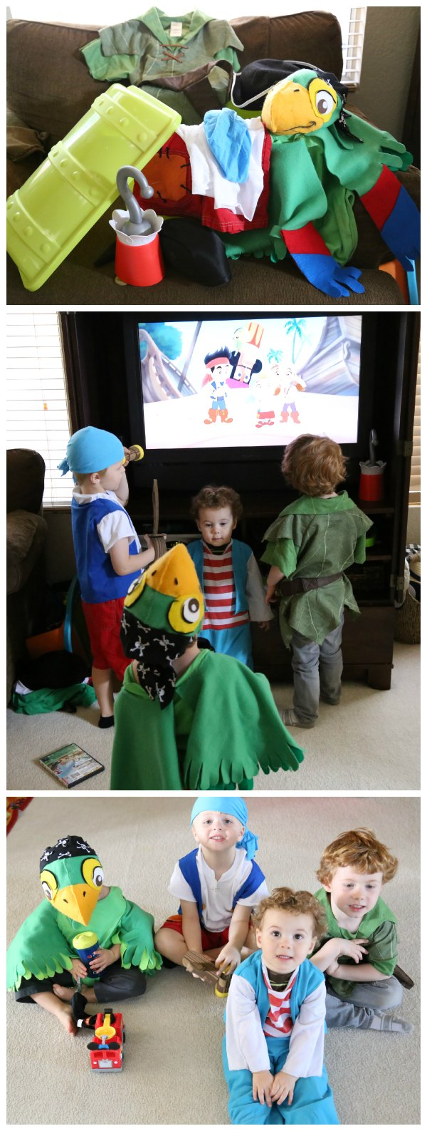 Jake and the Never Land Pirates Costumes