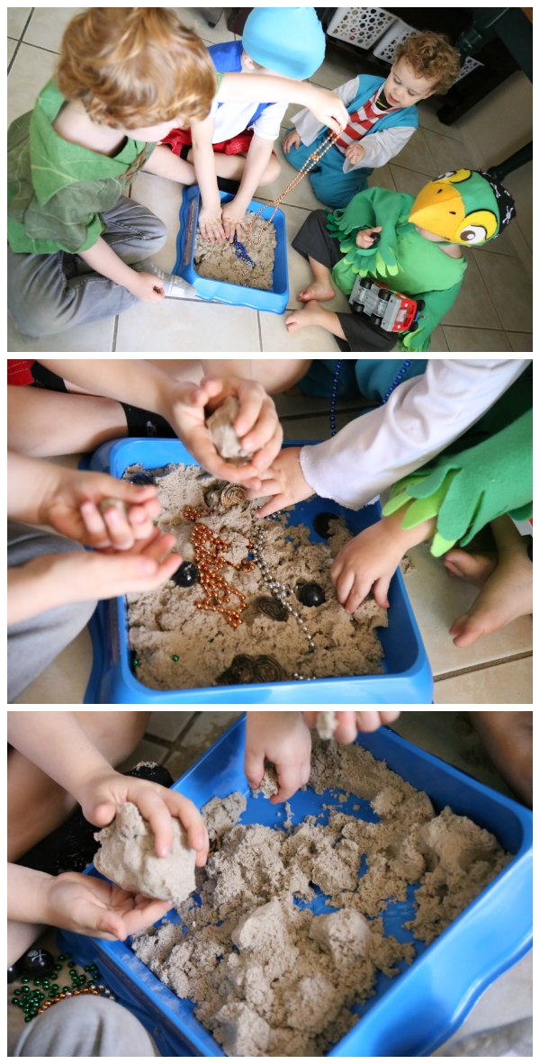 Kinetic Sand Pirate Activity