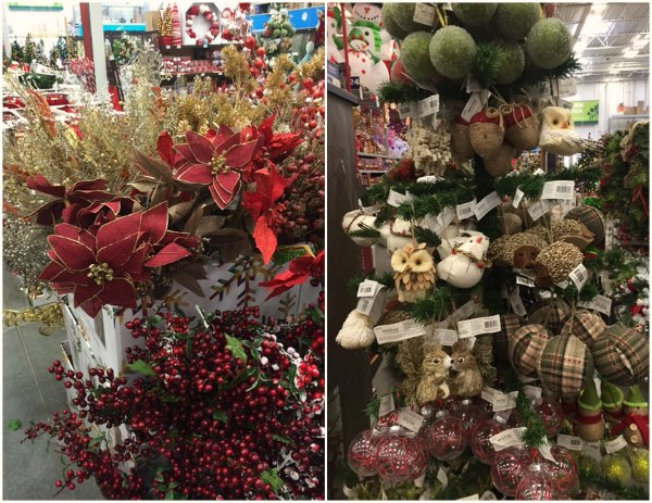 Lowe's Holiday decor