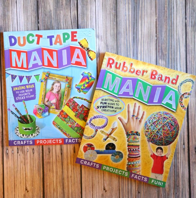 Rubber Band Mania Book