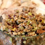 Sausage, Fruit and Nut Stuffing Recipe