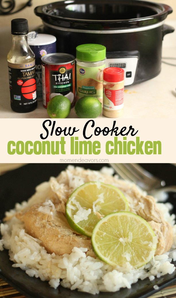 Slow Cooker Coconut Lime Chicken Recipe