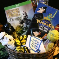 Star Wars Kids Movie Gift Basket Idea