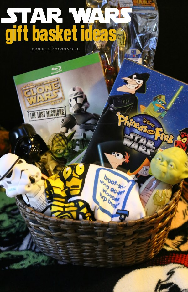 Star Wars Gift Basket Ideas