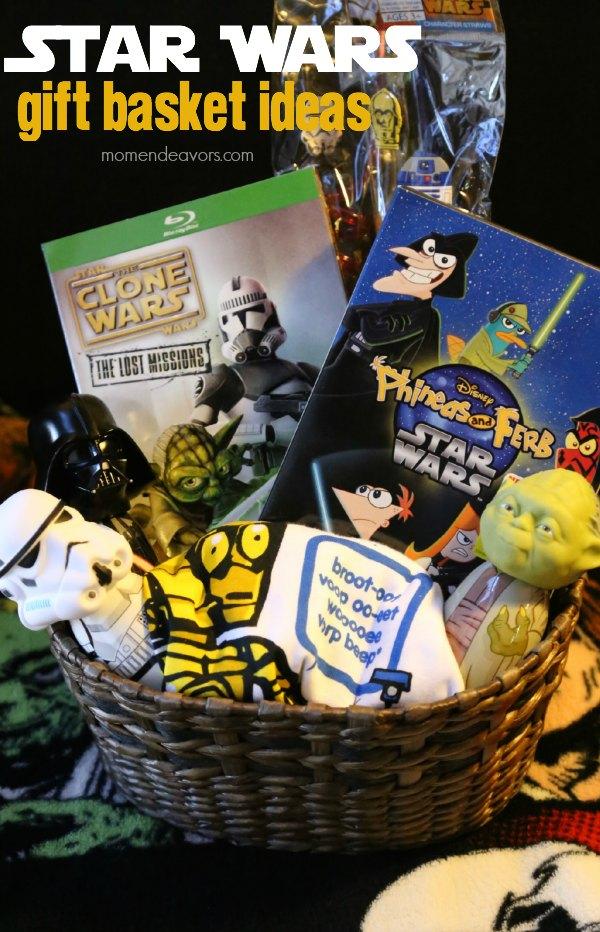star wars kids movie gift basket idea