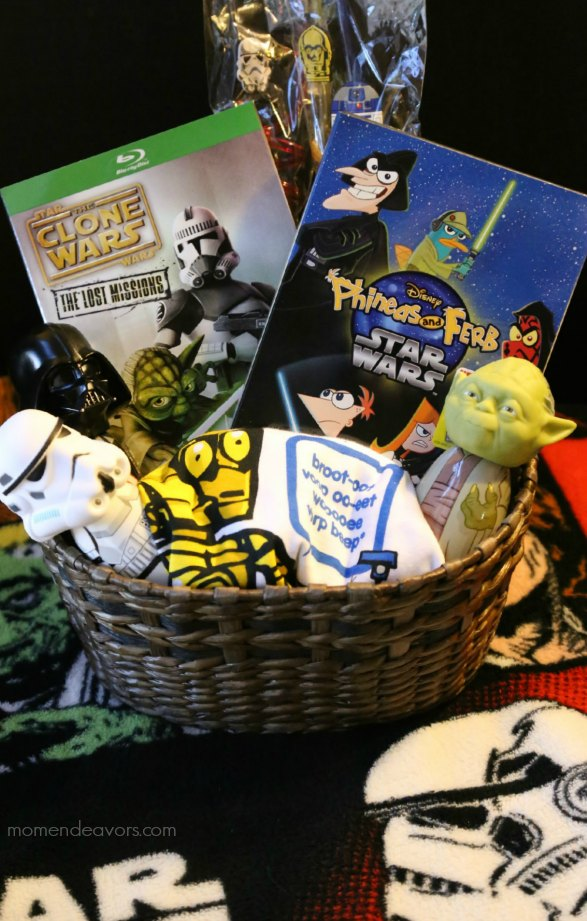 Star Wars Gift Basket