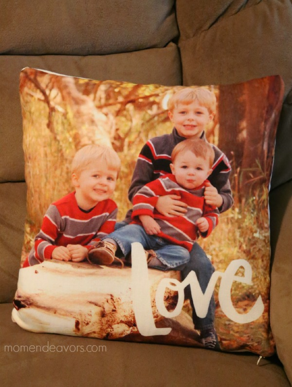 Tiny Prints Photo Pillow