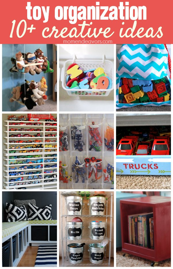 10+ Creative Toy Organization Ideas