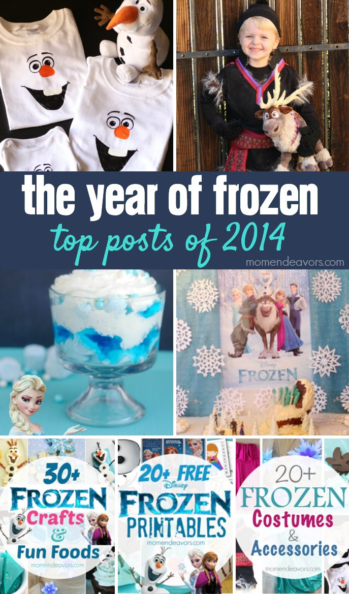 2014 Top Posts Disney Frozen
