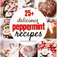 25+ Peppermint Recipes