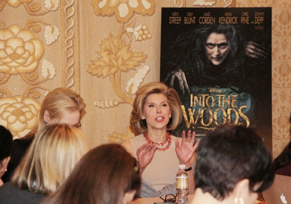 Christine Baranski Into the Woods