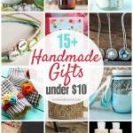 DIY Gifts Under $10!