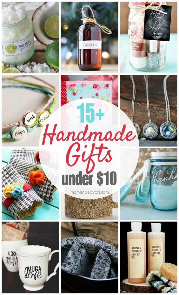 Meaningful Holiday Tips – 15+ Handmade Gift Ideas Under $10!