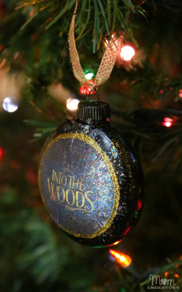 DIY Into The Woods Ornament