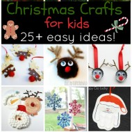 25+ Easy Christmas Crafts for Kids