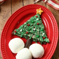 Easy No-Bake Christmas Tree Dessert