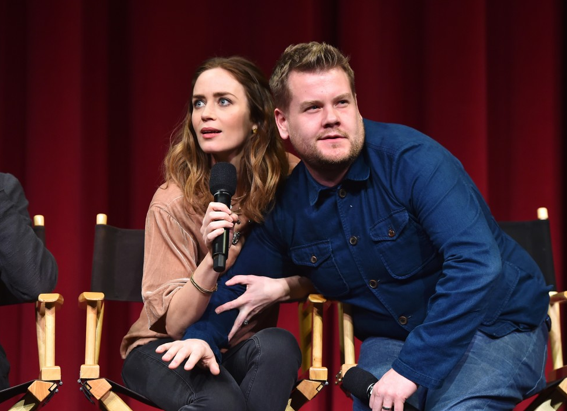 Emily Blunt & James Corden Into the Woods
