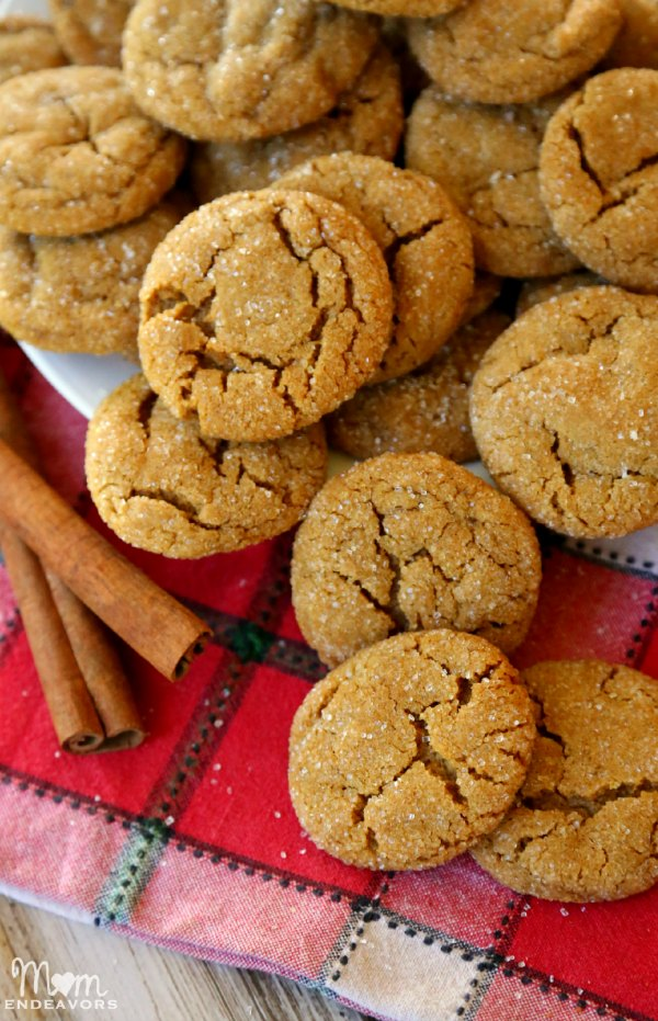Old-Fashioned Ginger Snap Cookies
