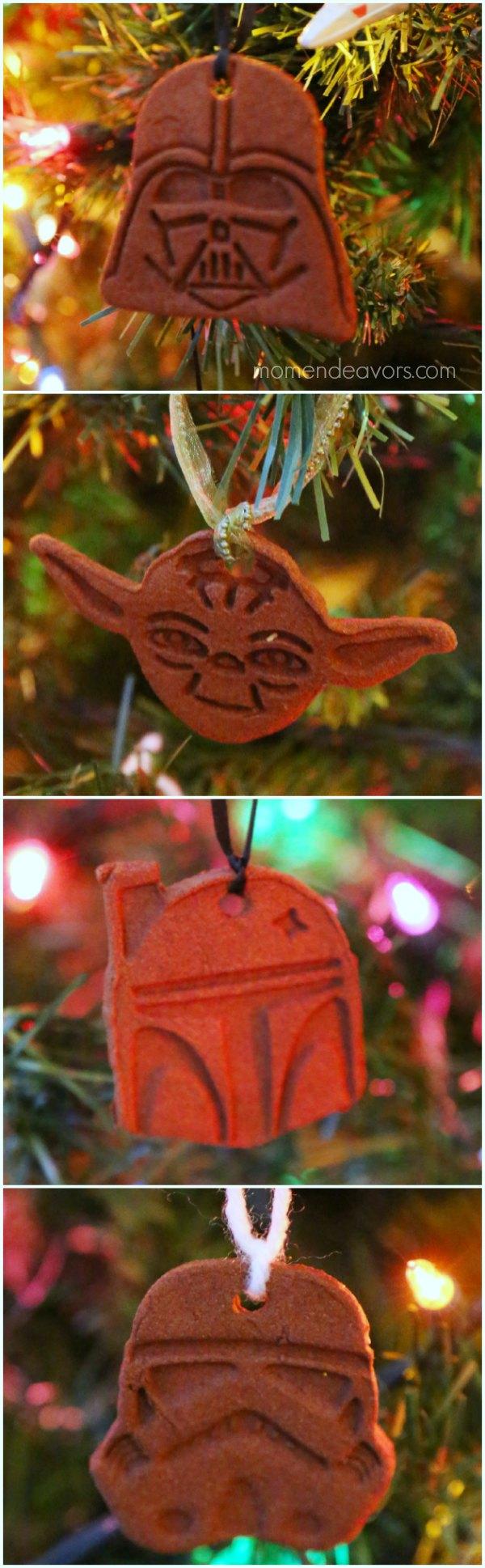 Homemade Star Wars Ornaments
