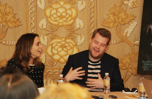 James Corden & Emily Blunt Interview