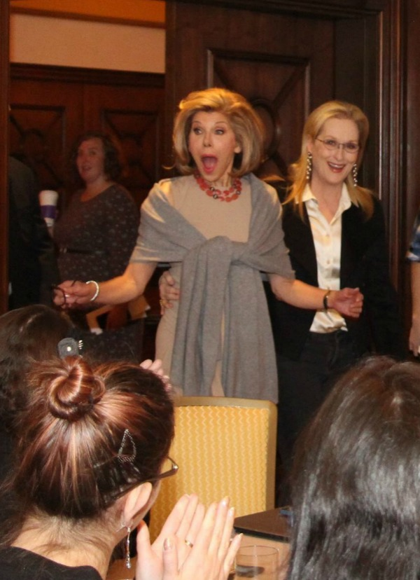 Meryl Streep & Christine Baranski