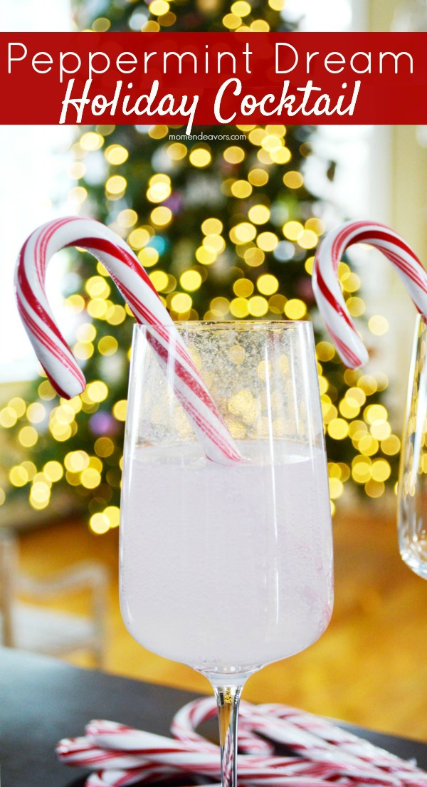 Peppermint Dream Holiday Cocktail1