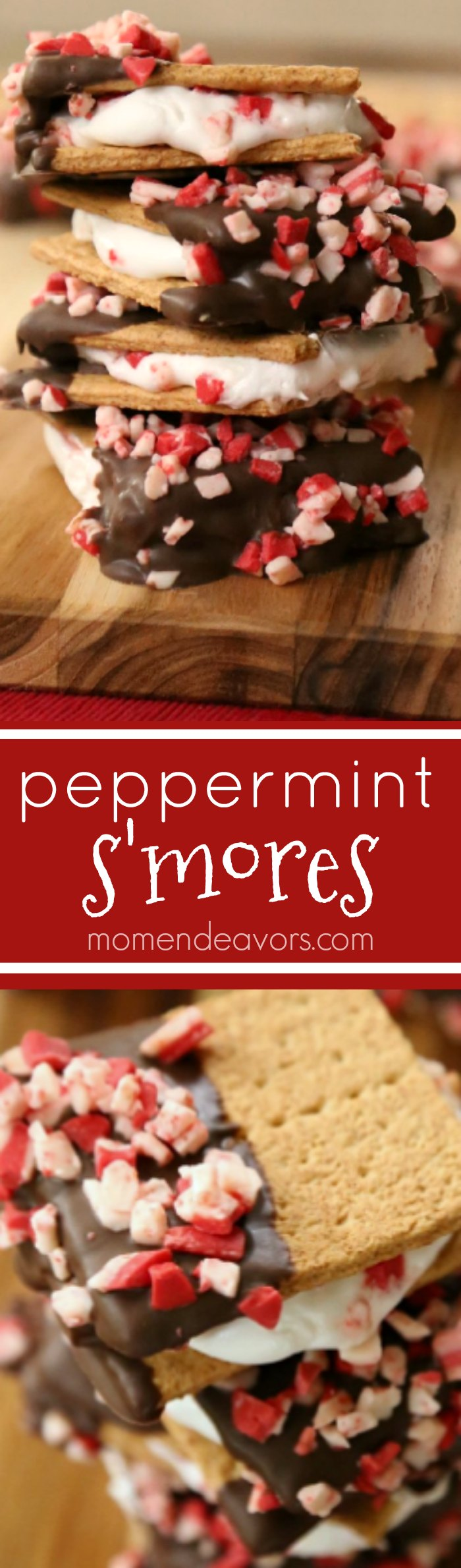 Peppermint S'mores Recipe