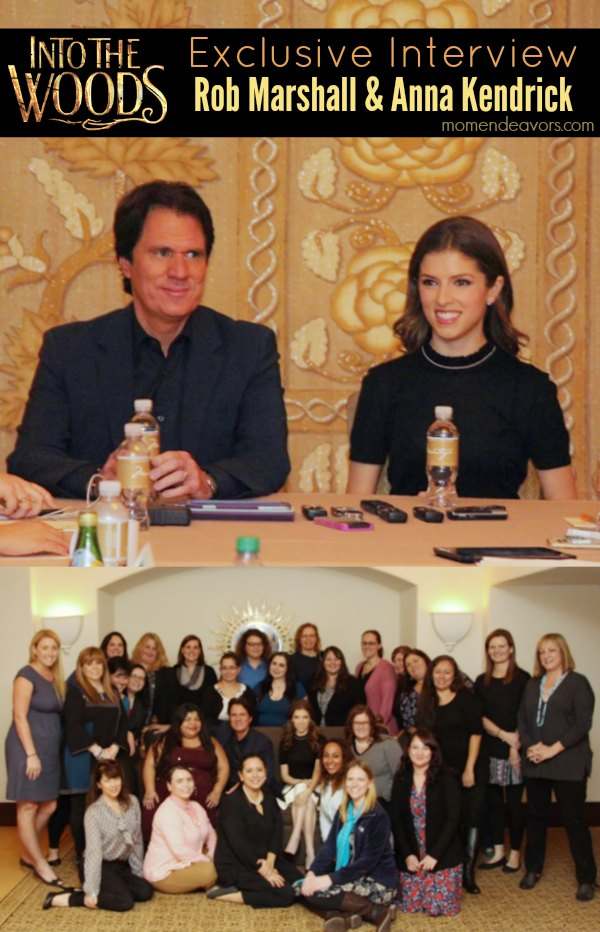 Rob Marshall & Anna Kendrick Into The Woods Interview