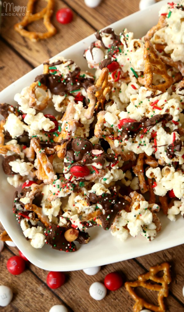 Santa Snack Mix Munch