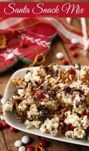Santa Sweet & Salty Christmas Snack Mix