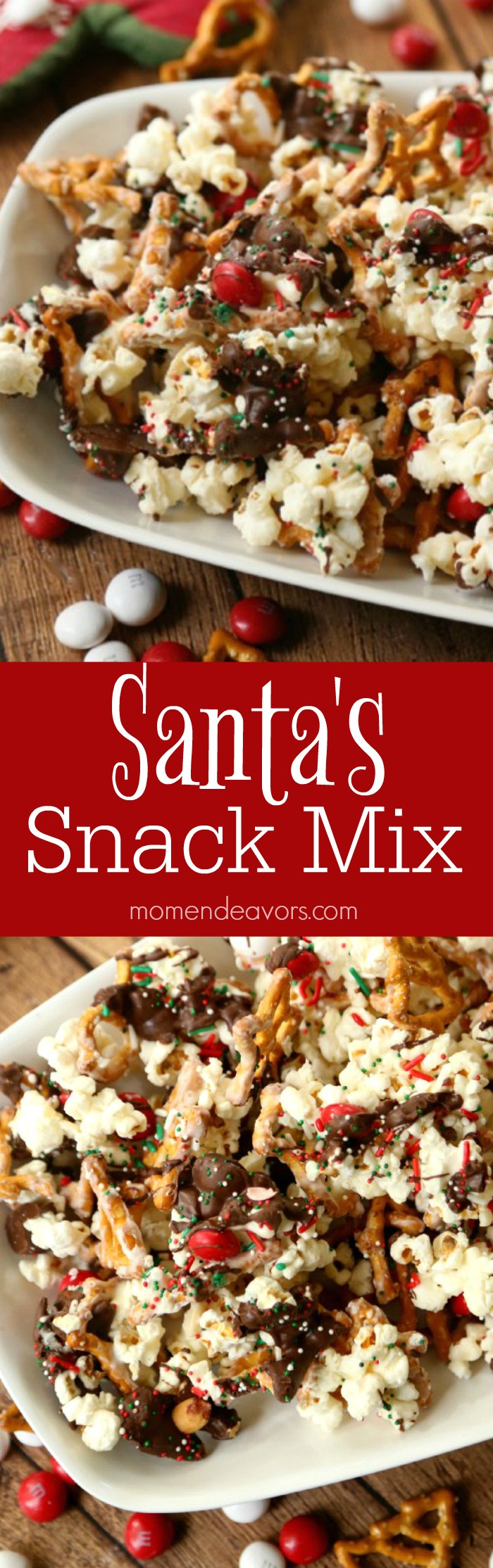 Santa's Christmas Snack Mix