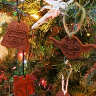 DIY Star Wars Cinnamon Dough Ornaments