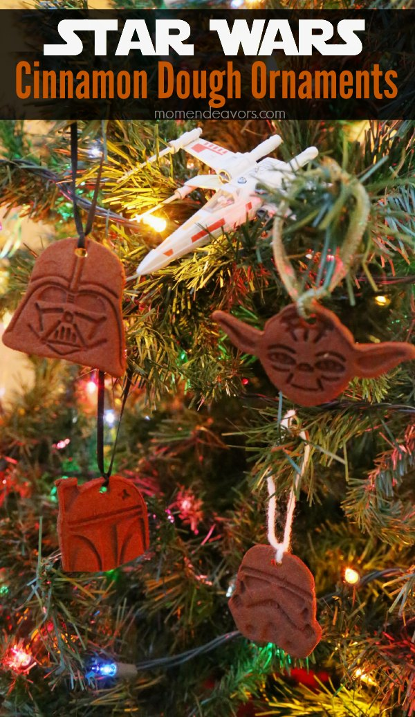 Star Wars Cinnamon Dough Ornaments