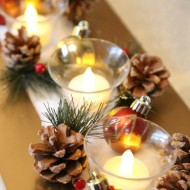 DIY Upcycled Christmas Centerpiece