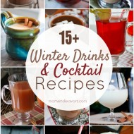15+ Delicious Winter Drinks & Cocktails