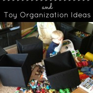 Toy Organization Ideas and Toy Purge Tips