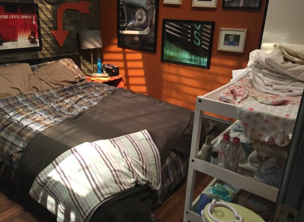 Baby Daddy Bedroom