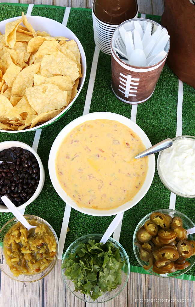 Build Your Own Tailgating Nacho Bar
