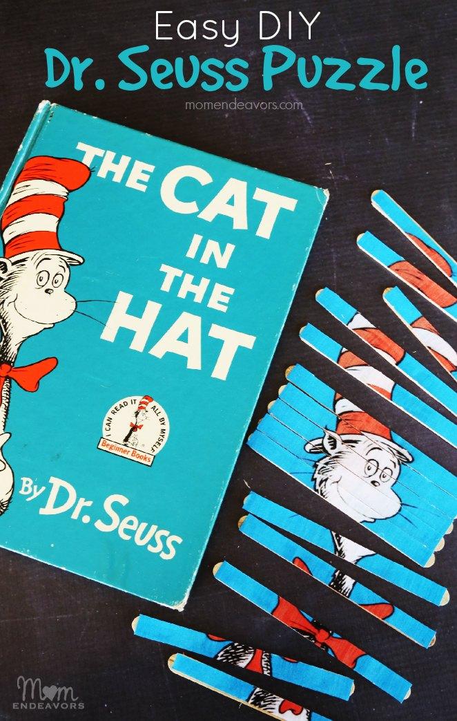 DIY Dr. Seuss Puzzle