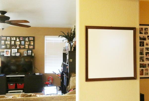 Diy White Board Our Kitchen