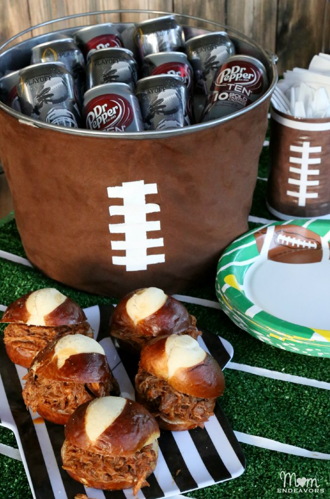 Dr Pepper Football Party